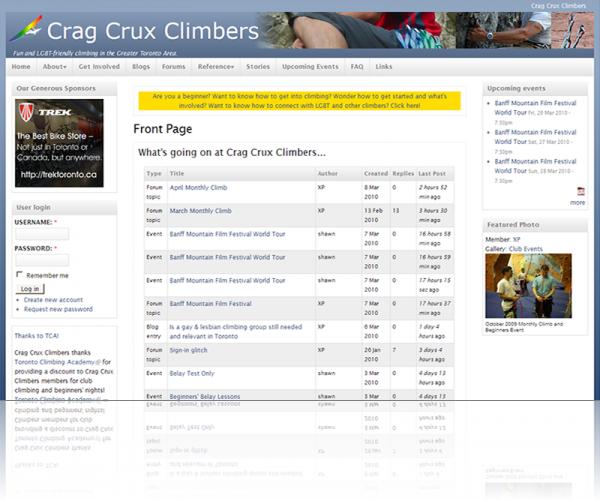 Crag Crux Climbers